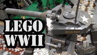 LEGO WWII Futuristic Mech Tank Battle | BrickCon 2016
