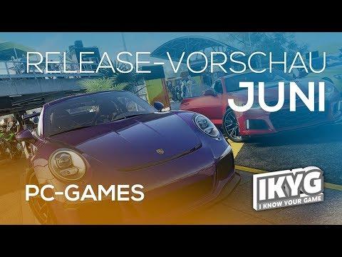 Games-Release-Vorschau - Juni 2018 - PC