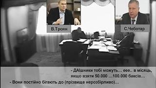 Скрытая камера в МВД - взятки, поборы, крышевание | Троян, Аваков, Чеботарь