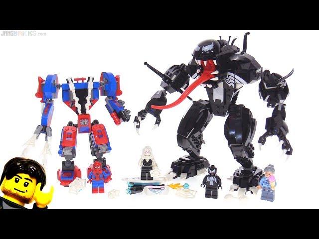 LEGO Spider Mech vs. Venom set review! 76115