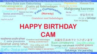 Cam   Languages Idiomas - Happy Birthday
