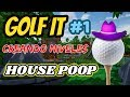 CREANDO EL MAPA HOUSE POOP EN GOLF IT!!