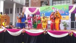 Khalsa College Mohali Giddha Performance in Inter College Competition [HD] Video Quality