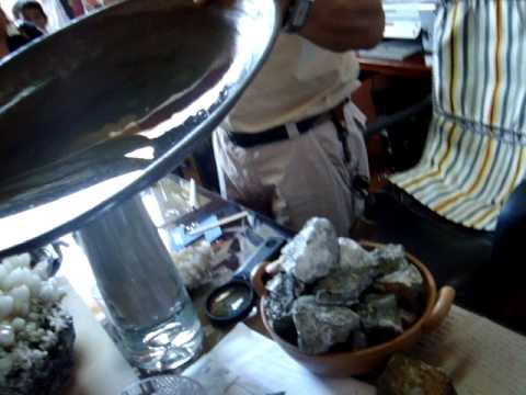 proceso de elaboracion del oro--zaruma