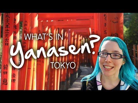 What's In YANESEN? (Yanaka, Tokyo)