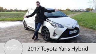 2017 Toyota Yaris Hybrid Fahrbericht / Nicht zu unterschätzende Kleinwagen-Alternative - Autophorie