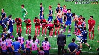 礼儀正しさに感動!サッカー日本代表と対戦したカンボジア代表が敬意を払う姿