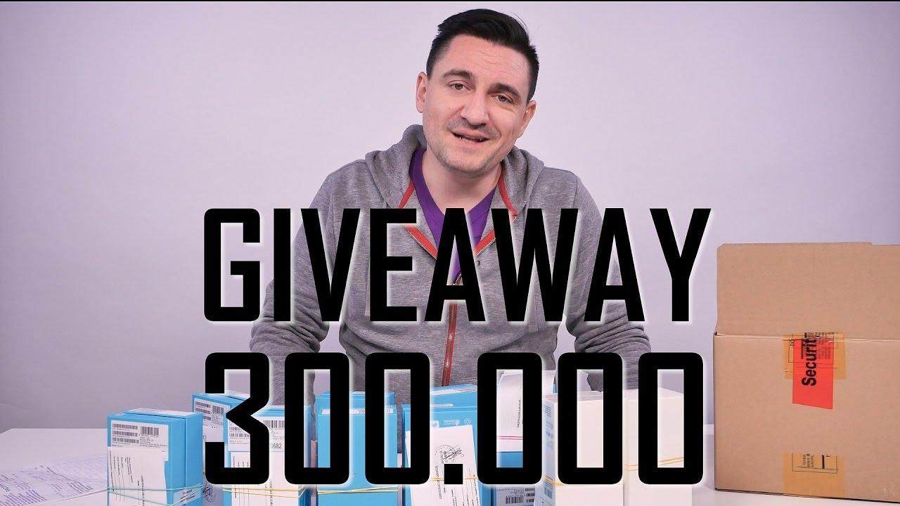 300 000 facebook giveaway
