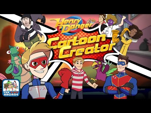 Henry Danger: Cartoon Creator - Create Your Own Kick-Butt Comic! (Nickelodeon Games)