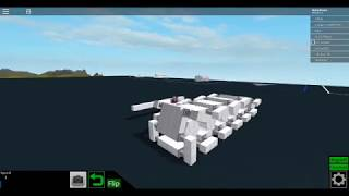 Roblox Plane Crazy FIRST WORKING TANK TREADS!!!!!