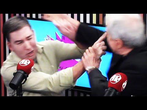 Glenn Greenwald Assaulted By Pro-Bolsonaro Journalist
