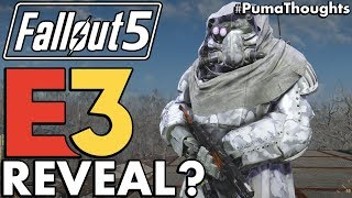 Will Fallout 5 or a Spin Off be revealed at E3 2018? (Bethesda Game Studios Next Game) #PumaThoughts