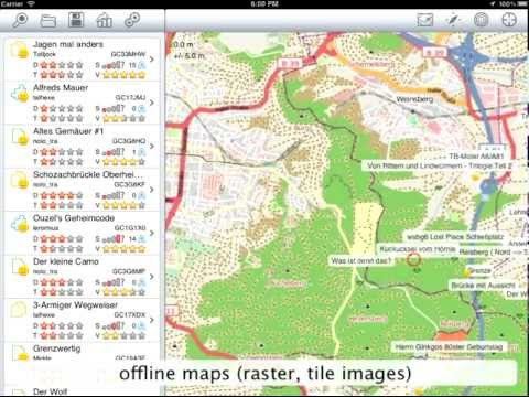 Looking4Cache - HowTo - Maps and Waypoints