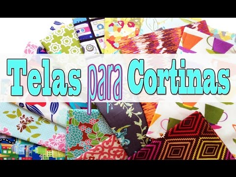 Telas para cortinas Manualidades con Mariel Picazo   YouTube