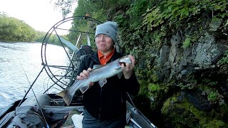 Камчатка Клевая рыбалка на новых местах часть 2