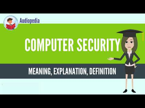 What Is COMPUTER SECURITY? COMPUTER SECURITY Definition & Meaning