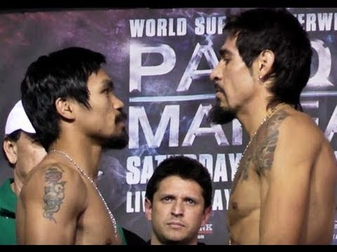 Manny Pacquiao vs. Antonio Margarito: Official Weigh in @ FightFan.com