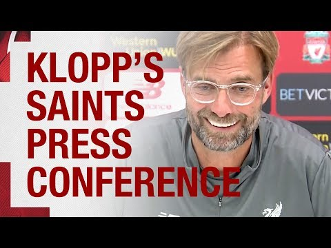 Klopp's Pre-Southampton Press Conference   Salah, Firmino And Milner All Discussed