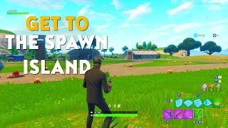 How To Get To The SPAWN ISLAND In Fortnite Playground