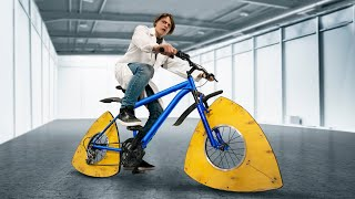 Что, если колеса велосипеда сделать треугольными?