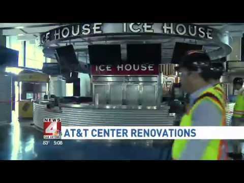 AT&T Center Renovations
