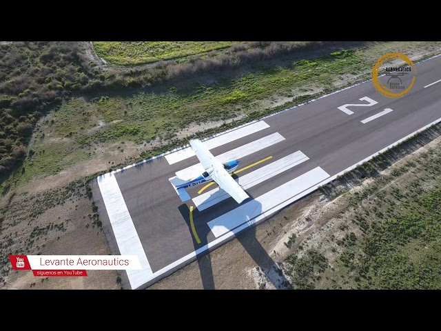 Showcase video Cessna Cardinal C177 | Levante Aeronautics Murcia Drone Services | 1080 HD