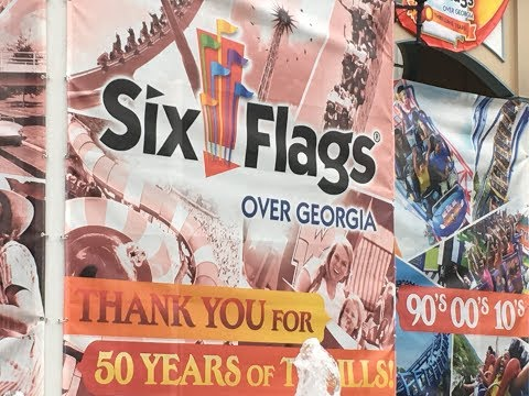 Six Flags Over Georgia June 6th, 2017