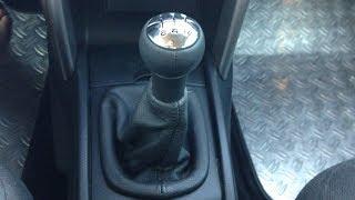 Peugeot 207 - Changement pommeau de vitesse