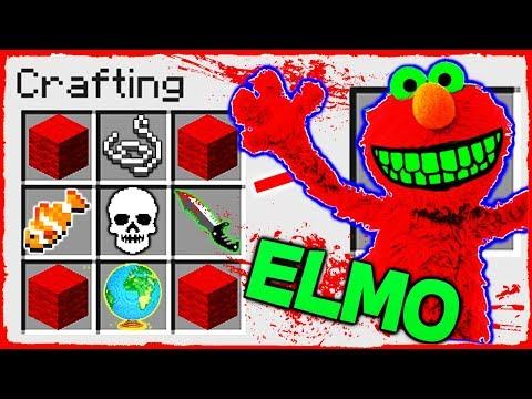 Download Youtube: Minecraft - How to Summon ELMO in a CRAFTING TABLE