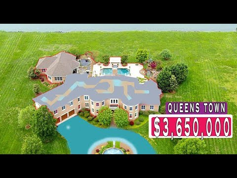 $3,650,000 UNITED STATES Luxury Mansion | QUEENS TOWN Mega Mansion