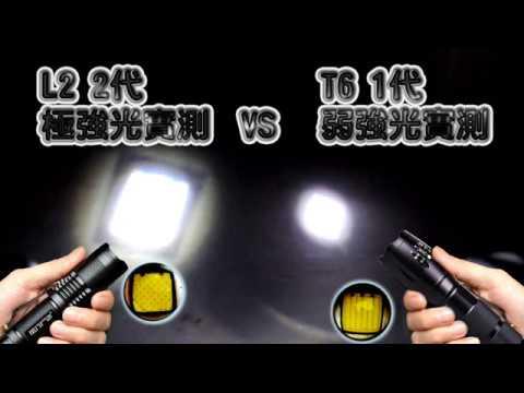 L2 極度強光手電筒 露營燈 LED手電 變焦充電 超亮燈泡 強光 伸縮調焦 工作燈 18650非Q5 R5 T6 U2