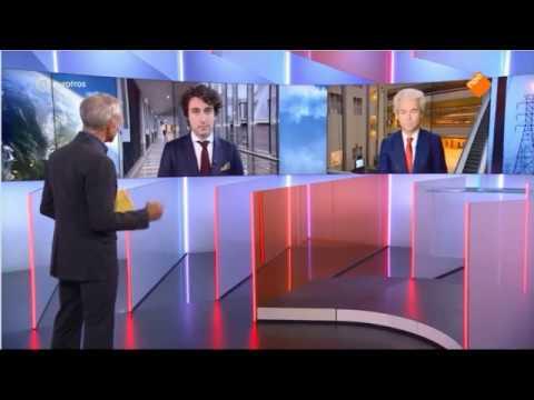 Interview Geert Wilders bij EenVandaag over regeerakkoord Rutte III
