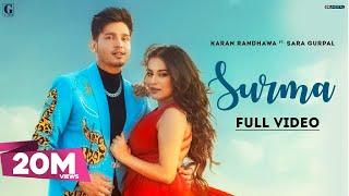 Surma Karan Randhawa Official Video Rav Dhillon New Punjabi Songs 2021 GK Digital Geet MP3