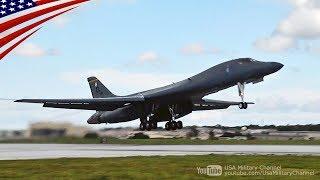 今日も「B-1B爆撃機」がグアムから飛び立ちました:2017/08/11