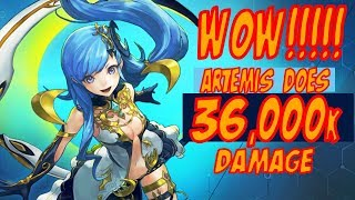 Artemis Hits For 36k WOW!!! - Chain Strike