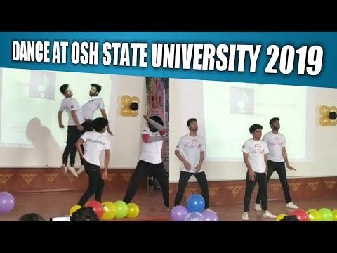 Dance at Osh state university Olympiad 2019 || International Medical Faculty Osh Kyrgyzstan