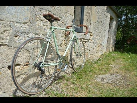 Restauration - Un Vélo Demi-course (bike Restoration)