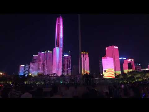SHENZHEN LIGHT SHOW - National Holidays