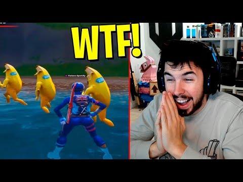 LO MÁS WTF DE FORTNITE! (Reaccionando)