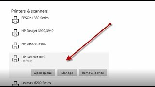 How to install hp laserjet 1015 printer driver in Windows 10 manually