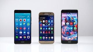 Huawei P9 Plus vs. Samsung Galaxy S7 vs. OnePlus 3: Benchmark   SwagTab