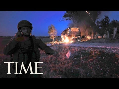 Israel And Hamas Exchange Heavy Fire After A Botched Raid On Gaza | TIME