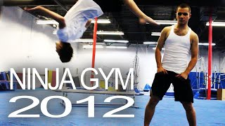 Ninja Gym 2012!  (Training gym for free running / parkour - beginner through advanced)