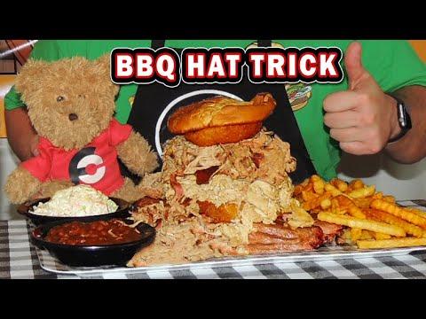 """hub-city-bbq-sandwich-""""hat-trick""""-challenge-in-crestview,-florida!!"""