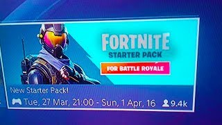 """*NEW* How To DOWNLOAD """"Rogue agent starter pack"""" RELEASE DATE! (Fortnite Battle Royale)"""