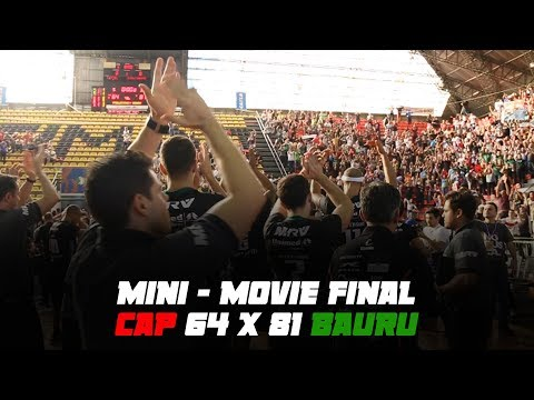 Mini-Movie: Bauru vence 4ª partida e título será decidido no jogo 5!
