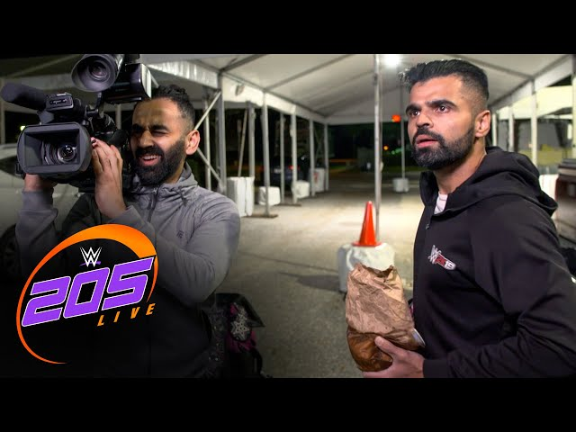 Bollywood Boyz are interrupted while filming: 205 Live Exclusive, Dec. 4, 2020