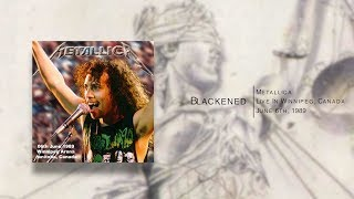 Metallica - Live from Winnipeg, Canada (June 6th 1989) [Audio Only]