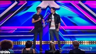The Royce Twins - The X Factor Australia 2013 - Audition [FULL]