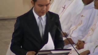 TT HÀM TÂN: Thánh Lễ nhậm chức Giám Quản Giáo phân Phan Thiết.-CÁC BÀI ĐỌC.